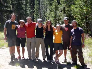 The end of our last day of hiking in Yosemite (photo by Christian)